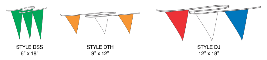 Poly pennant lines