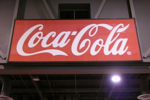 banner cocacola